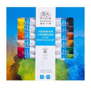 Set Acuarele Winsor & Newton 18X10 ml