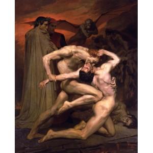 William Adolphe Bouguereau - Dante si Vergiliu in Infern