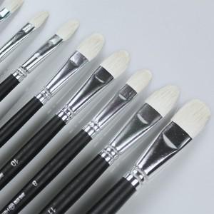 Set 6 pensule din par de oaie Hero K 1-11